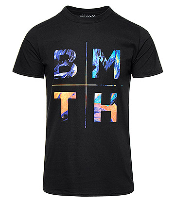 Official Bring Me The Horizon Colours T Shirt (Black)