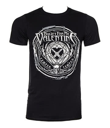 Official Bullet For My Valentine Time To Explode T Shirt (Black)