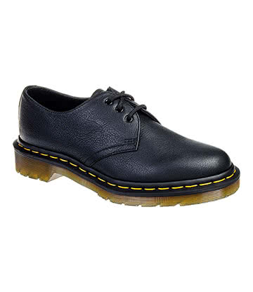 Dr Martens Virginia 1461 Shoe (Black)