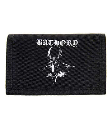 Official Bathory Goat Wallet (Black)