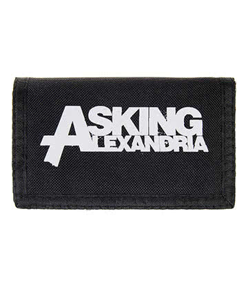 Official Asking Alexandria Logo Wallet (Black)