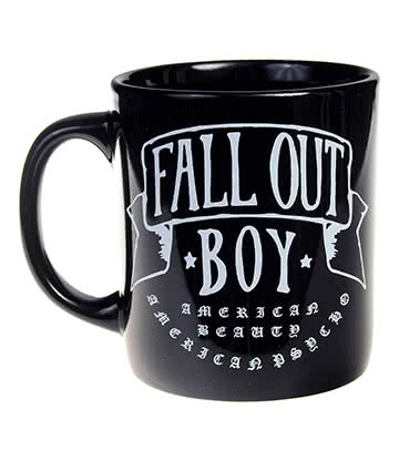 Official Fall Out Boy American Beauty Mug (Black)