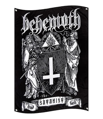 Official Behemoth The Satanist Flag (Black)