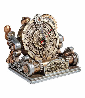 Alchemy Gothic Time Cronambulator Mantle Clock