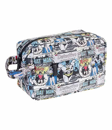 DC Comics Batman & Robin Wash Bag (Blue)