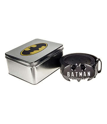 DC Comics Batman Belt Gift Tin (Black)