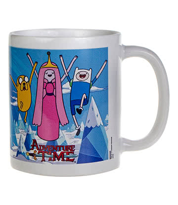 Adventure Time Princess Jake & Finn Mug (White)