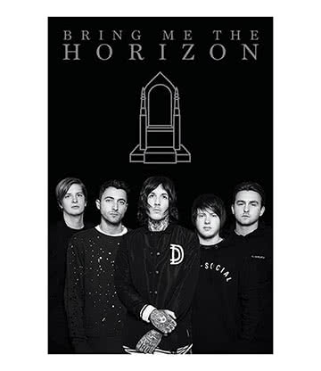 Official Bring Me The Horizon Poster (Black)