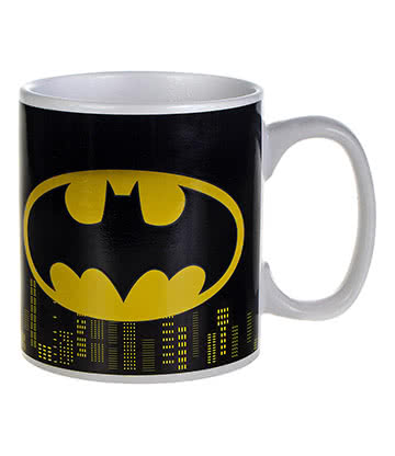 DC Comics Batman Heat Changing Mug (Black)