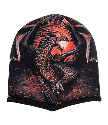Spiral Direct Dragon Furnace Beanie (Black)