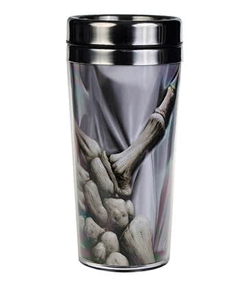 Spiral Direct Death Grip Thermo Mug (Grey)