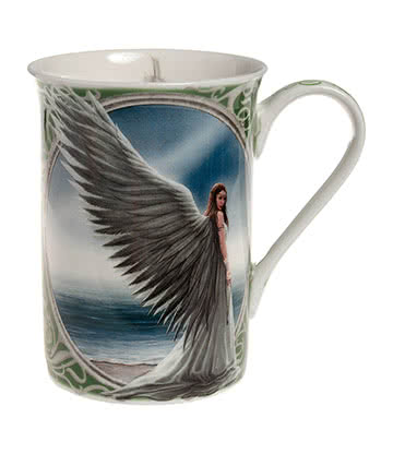 Nemesis Now Spirit Guide Dainty Mug (White)