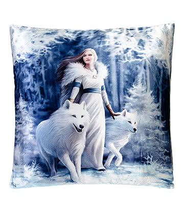 Nemesis Now Winter Guardians Cushion (16 x 16