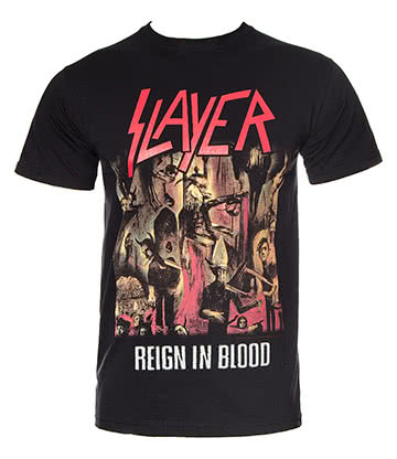 Official Slayer Reign In Blood T Shirt (Black)