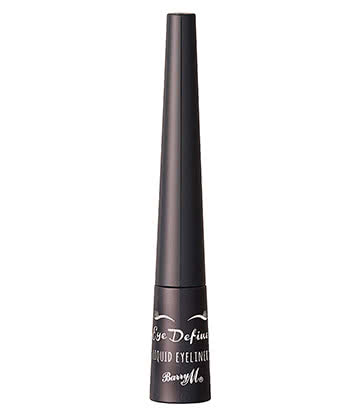 Barry M Liquid Eyeliner (Black)