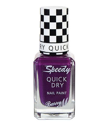Barry M Slip Stream Speedy Nail Paint 10ml (Purple)