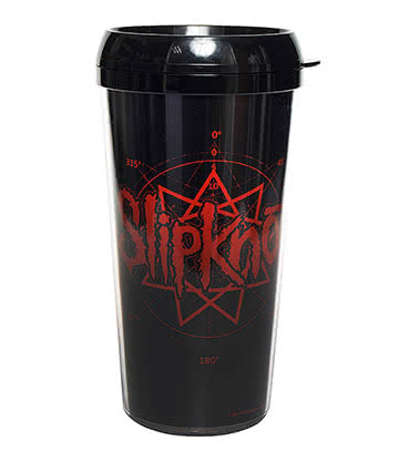 Official Slipknot Logo Travel Mug (Multi)