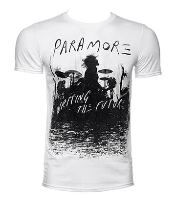 Official Paramore Future Silhouette T Shirt (White)