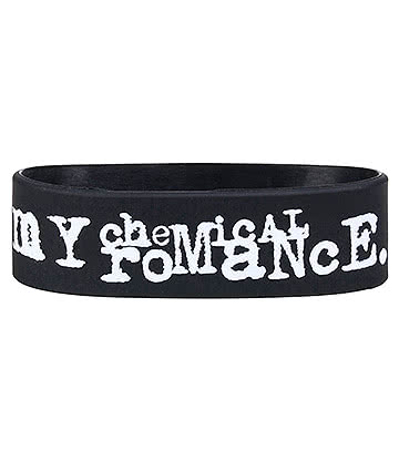 Official My Chemical Romance Three Cheers Wristband (Black)