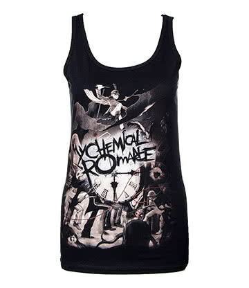 Official My Chemical Romance Parade Clock Vest (Black)