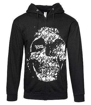 Official My Chemical Romance Haunt Zip Up Hoodie (Black)