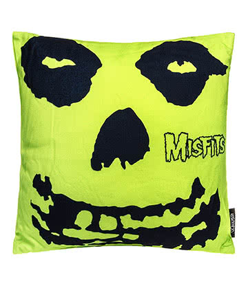 Official Misfits Skull Cushion (Multi)