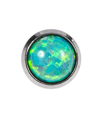 Blue Banana Opal Microdermal (Green)