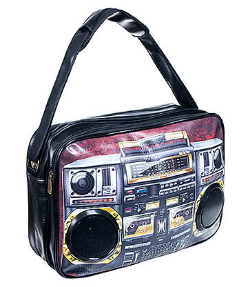 Blue Banana Tape Speaker Bag (Brown)