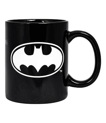 DC Comics Batman Glow In The Dark Mug (Black)