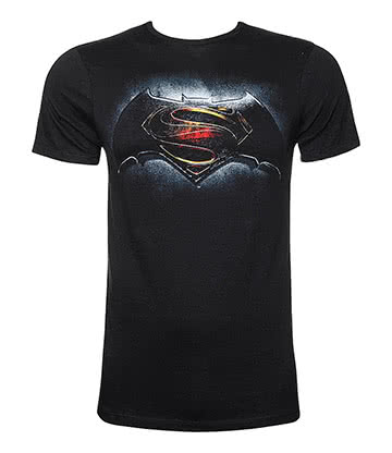 DC Comics Batman V Superman T Shirt (Black)