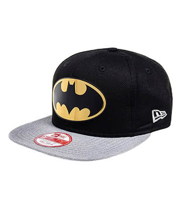 New Era Batman Logo Hat (Black)