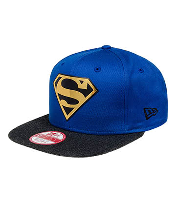 New Era Superman Logo Hat (Blue)