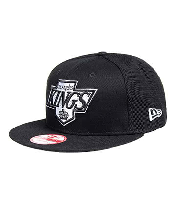 New Era LA Kings Mesh 9Fifty Snapback Hat (Black)