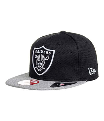 New Era Oakland Raiders 9Fifty Snapback Hat (Black/Grey)