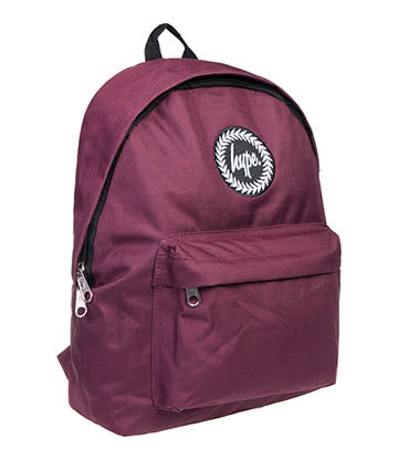Hype Backpack (Burgundy)