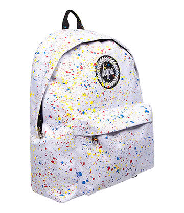 Hype Speckle Backpack (White/Primary)