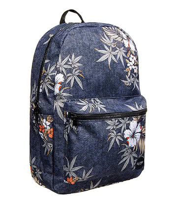 Globe Hibiscus Dux Deluxe Backpack (Blue)