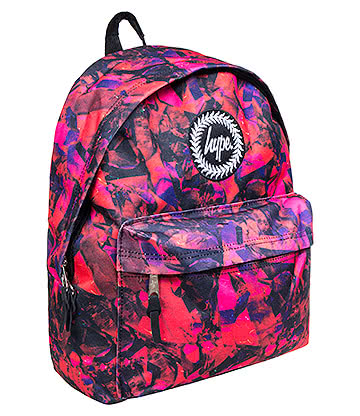 Hype Red Rock Backpack (Multicoloured)