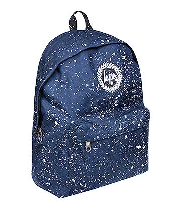 Hype Speckle Backpack (Navy/White)