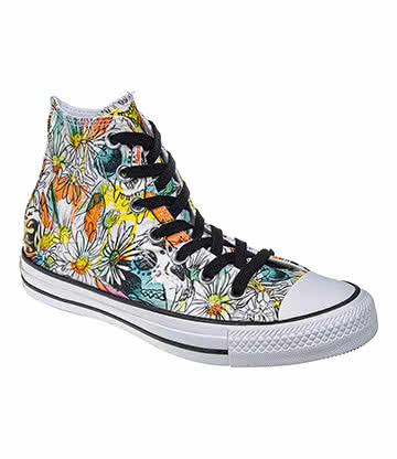 Converse All Star Hi Top Boots (Daisy Rebel)