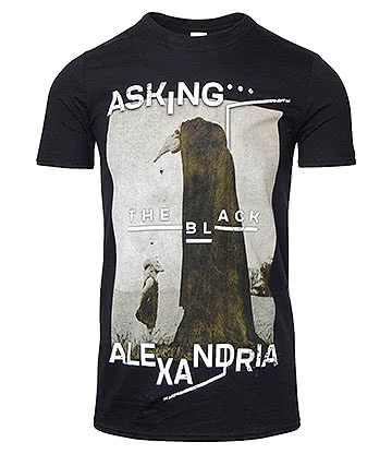 Official Asking Alexandria The Black Org T Shirt (Black)