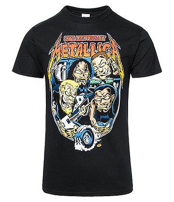 Official Metallica Filimore Poster T Shirt (Black)