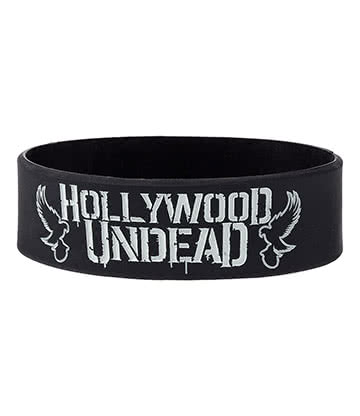 Official Hollywood Undead Doves Wristband (Black)