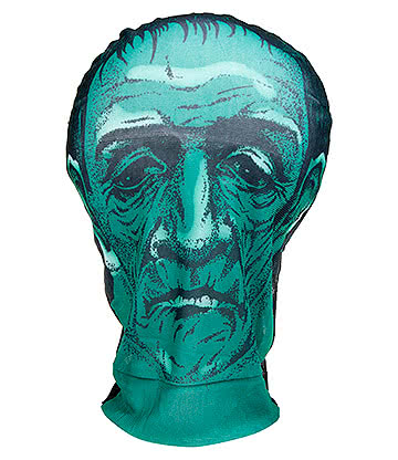 Blue Banana Mesh Monster Mask (Green)