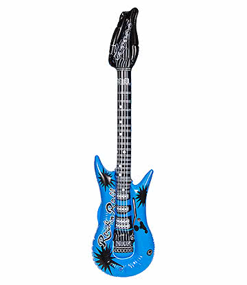 Blue Banana Inflatable Guitar (Blue)