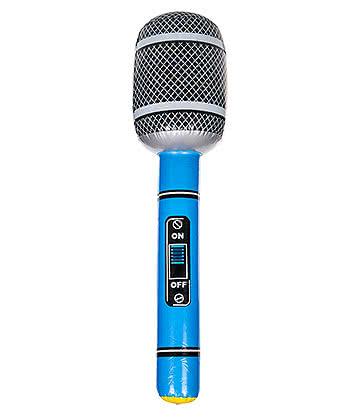Blue Banana Inflatable Microphone (Blue)