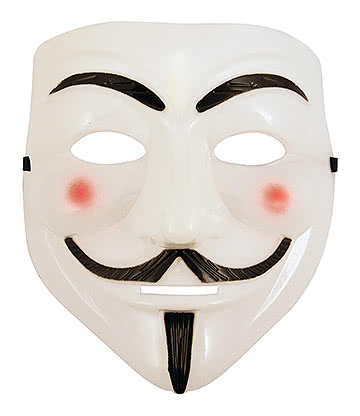 Vendetta Mask (White/Black)