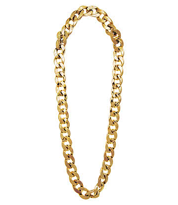 Chunky Gangster Style Chain (Gold)