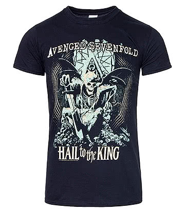 Official Avenged Sevenfold En Vie T Shirt (Black)