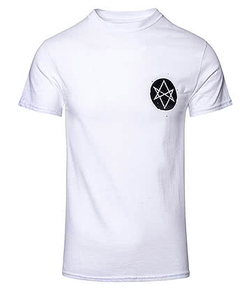 Official Bring Me The Horizon Distorted T Shirt (White)